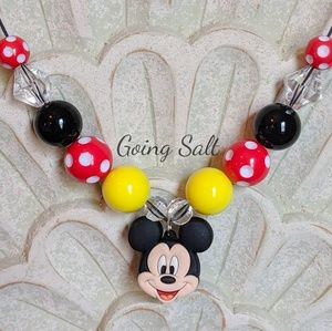 Mickey Mouse Bubblegum Necklace
